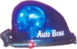 Helmat Type Revolving Lights in Blue Color